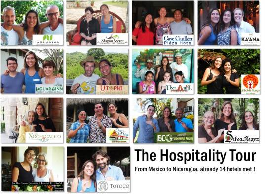 The Hospitality Tour 14 Hotels Met